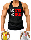 MENS MMA GYM BODYBUILDING MOTIVATION VEST BEST WORKOUT TRAINING TOP TANKTOP
