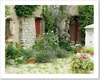 Garden In Provence Art Imprint/Canvas Home Decor Wall Art Poster - 5