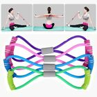 arm resistance band - Latex Rubber Arm Resistance Stretch Band Rope Fitness Exercise Pilates Yoga Gym