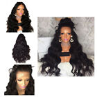 Women Synthetic Curly Long lace Hair Lace Front Cap Long Wigs USA