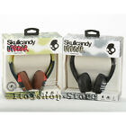 Skullcandy Headphones Uproar On ear w Built In Mic and Remote Red Blue Black