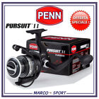 Mulinello pesca Penn Pursuit 3000 8000 spinning surfcasting mare traina e barca