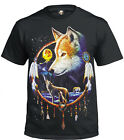 DREAM CATCHER T-Shirt/Native American/Wolf/RedIndian/Biker/Unisex/Xmas Gift/Top