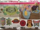 Simplicity  2493, 2935   Assorted Rag Quilts  You Pick!    NEW!