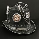 Deluxe Steampunk Adult Victorian Clock Chain Costume Hat