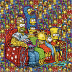 Simpsons Couch Monsters by Rob IsraeI LE BLOTTER ART acid free lsd paper
