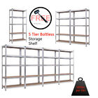 "Sorrowful Duty Steel 71"" 5 Level Garage Shelf Metal Storage Adjustable Shelves Component"