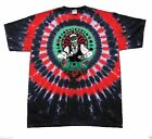 New Authentic Mens Grateful Dead Dealer Tie Dye Tee Shirt