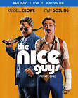 The Nice Guys (Blu-ray/DVD, 2016, 2-Disc Set, Includes Digital Copy UltraViolet)