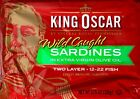 King Oscar Wild Caught Sardines Extra-Virgin Olive Oil 3.75 oz., 2, 4 or 8 Cans
