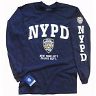 NYPD T-SHIRT, Officially Licensed Crewneck Long-Sleeve Athletic Tee image
