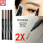 2Pcs Patented Microblading Tattoo Eyebrow Ink Pen Eye Brow Makeup Pencil SR48