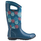 Damen Bogs North Hampton BOMMEL BLAU Isoliert Warm Gummistiefel 72040