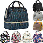 US Multifunctional Mummy Diaper Bags Mollycoddle Nappy Insulated Backpack Changing Bag