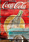 VINTAGE COKE Coca-Cola POSTER Retro KITCHEN Cafe Teashop Pub Bar Art Print A3 A4 £3.99  on eBay