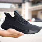 Mens Breathable Mesh Running Shoes Athletic Sneakers Sports Walking Gym
