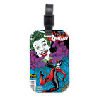 Joker Harley Quinn Funny Wood Travel Luggage Tag Bag Accessory