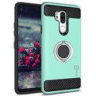 For LG G7 ThinQ Hybrid Armor Protective Ring Shockproof Phone Cover Case