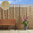 4m Natural Peeled Reed Fencing Screening Bamboo Panel Garden Privacy Outdoor New