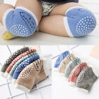 5Colors Crawling Anti-Slip  Knee  Pads Socks for Unisex Baby Toddlers Kids