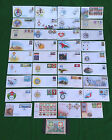 SULTANATE OF OMAN - FIRST DAY COVERS - LARGE SELECTION - F.D.C.
