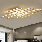 L85/135cm LED acrylic flush ceiling lihgt living room Restaurant house decor Yc