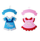 "18"" Baby Shower Hanging Decorations Garlands Its A Boy It's A Girl Decoration"