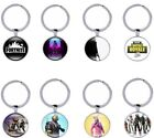 Fortnite Key chain set of 10 key ring  toys Christmas Gift party bag assorted