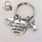 1pc I Used To Be Her Angel Key Ring Mom Memorial Keychain Mother's Day Gifts