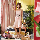 Woman's Whole cotton dress Sexy sleepwear night skirt Comfortable home clothes