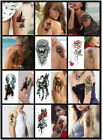 Sexy Body Tattoo Sticker Temporary Body Arm Stickers Removable Waterproof  US $1.99 USD on eBay