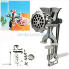 Electric/Manual Meat Grinder Mincer Sausage Stuffer Machine Stainless Steel Home photo