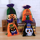 Halloween Gift Bag Beam Port Drawstring Bag Sack Party Candy Kid Gift Bags Pouch