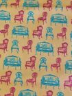 Victorian Chairs Couches Cotton Fabric BY Yard / Half Yard / 7/8+ YARD
