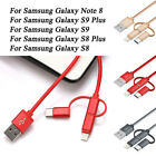 3 in 1 Micro USB/Type C/Lighting Charger Cable For iPhone Android Samsung HTC R1
