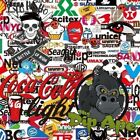 STICKER BOMB 10 HYDROGRAPHIC WATER TRANSFER HYDRO FILM DIP APE