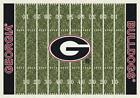 Georgia Bulldogs UGA Football Field Rug
