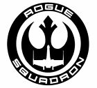 Star-wars ROGUE SQUADRON  Vinyl decal  BUY 2 GET 1 FREE automatically $24.99 USD on eBay