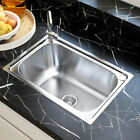 Stainless Steel Kitchen Sink Single Bowl...
