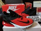 Nike Air Max 270 Flyknit Chile Red Challenge Bred Black White Running AO1023 601