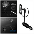 Rotate Wireless Car Charger Magnetic Mount For iPhone X 8 7 6S Samsung S8 Note8