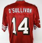 NEW Mens REEBOK San Francisco 49ers NFL OSullivan 14 Screened Football Jersey