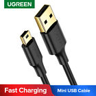 Ugreen Mini USB Cable USB 2.0 Type A to Mini B Cable for PS3 GPS HDD Digi Camera