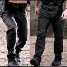 Men Tactical Pants Combat Quick Dry Lightweight Waterproof Nylon Cargo Hiking