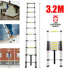 Aluminium Telescopic Ladder Step Ladder Multi-Purpose Extendable 3.8M 5M EN131