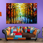 Leonid Afremov Tree Forest Hd Art Wall Painting Canvas Mural Home Decor Unframed