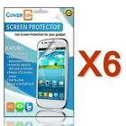 Lot New HD Clear Anti Glare LCD Screen Protector Cover for LG Lucid 3