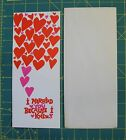 Unused Valentines Day Card OZ 1950 Married You Heart Couldn't live without me