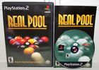 Real Pool (Sony PlayStation 2, 2000) PS2 Complete Billards Video Game