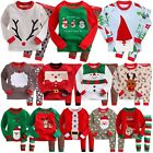 "Vaenait Baby Toddler Kids Clothes Christmas Sleepwear Set ""Santa Set"" 12M-7T"